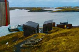Skysstjeneste fra Arctic Cruise til Fleinvær og det flotte fordypningsrommet!