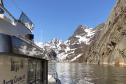 Arctic Cruise AS i Trollfjorden på sightseeing!
