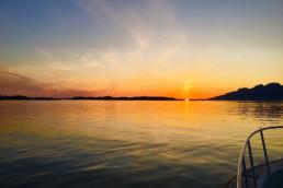 Båttur og solnedgang!